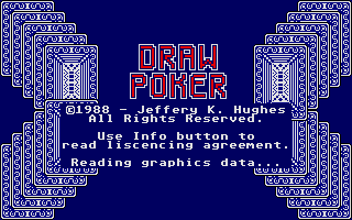 Screenshot of Draw Poker