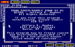 Thumbnail of other screenshot of Draw Poker