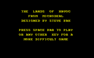 Thumbnail of other screenshot of Lands of Havoc