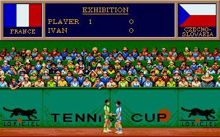 Screenshot of Tennis Cup