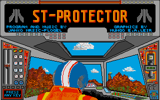 Screenshot of ST Protector