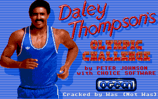 Screenshot of Daley Thompson's Olympic Challenge