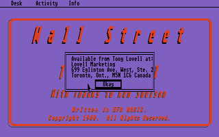 Thumbnail of other screenshot of Wall Street