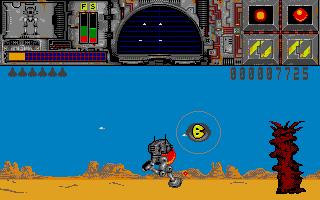 Screenshot of Thunder Burner
