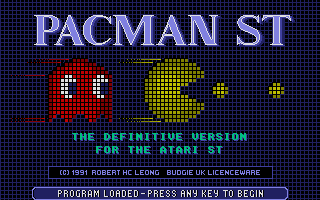 Thumbnail of other screenshot of Pacman ST