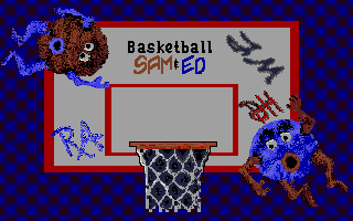 Thumbnail of other screenshot of Sam & Ed - Basketball