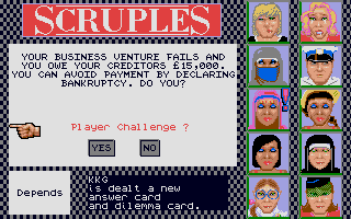 Screenshot of Question Of Scruples, A - The Computer Edition