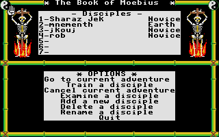 Thumbnail of other screenshot of Book Of Moebius, The