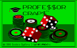 Thumbnail of other screenshot of Professor Craps