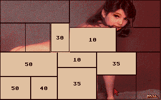 Screenshot of Centerfold Squares