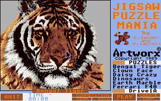 Screenshot of Jigsaw Puzzlemania