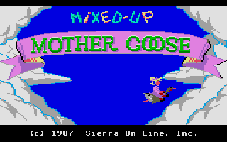 Screenshot of Mixed-Up Mother Goose