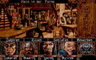 Screenshot of Ishar 3 - The seven gates of infinity