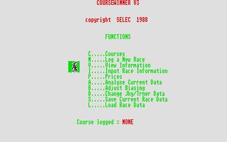 Screenshot of Coursewinner 3