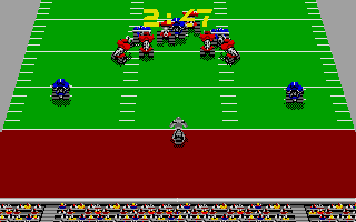 Screenshot of Cyberball - Football in the 21st century