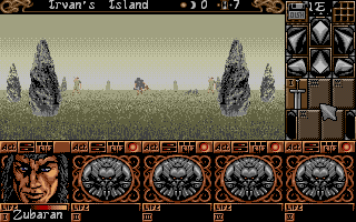 Screenshot of Ishar 2 - Messengers of Doom