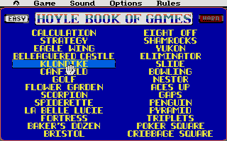 Thumbnail of other screenshot of Hoyle's Official Book of Games volume 2