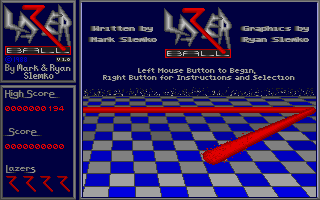 Thumbnail of other screenshot of Lazer Ball