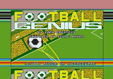 Screenshot of Football Genius