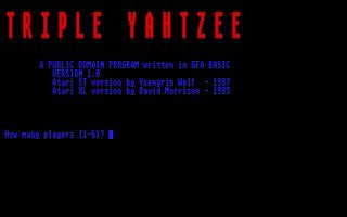 Thumbnail of other screenshot of Triple Yahtzee