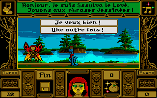 Screenshot of Esprits Français CM1-CM2 - volume 2