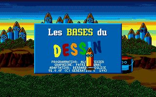 Screenshot of Bases du Dessin, Les