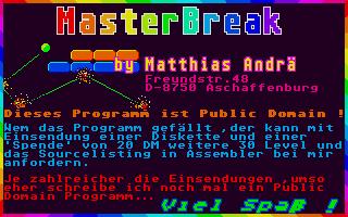 Screenshot of Masterbreak