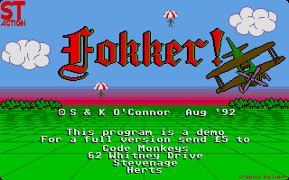 Thumbnail of other screenshot of Fokker