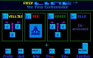 Screenshot of Megaline