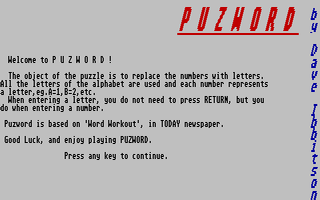 Thumbnail of other screenshot of Puzword