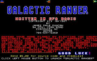 Thumbnail of other screenshot of Galactic Ranger