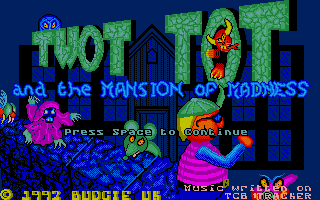 Thumbnail of other screenshot of Twot Tot and the Mansion of Madness