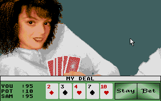 Screenshot of Strip Poker II+