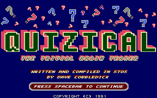 Thumbnail of other screenshot of Quizical
