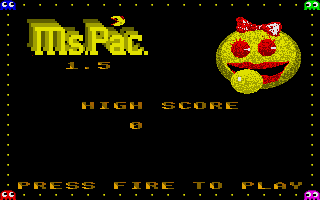 Screenshot of Ms.Pac