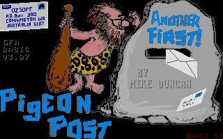 Screenshot of Pigeon Post