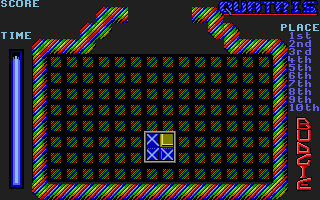 Screenshot of Quatris