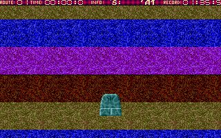 Screenshot of Atari Slalom
