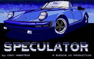 Screenshot of Speculator