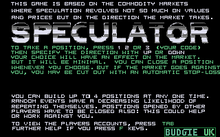 Thumbnail of other screenshot of Speculator