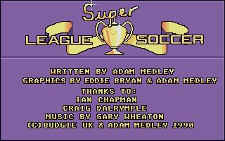 Screenshot of Super League Soccer