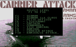 Screenshot of Carrier Attack