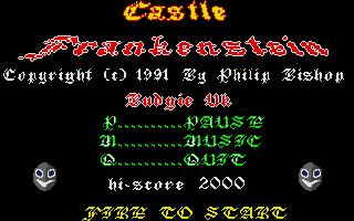 Screenshot of Castle Frankenstein