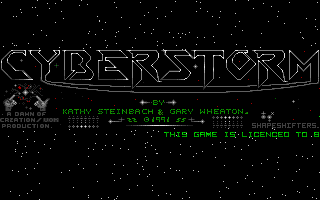 Thumbnail of other screenshot of Cyberstorm