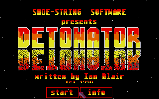 Screenshot of Detonator