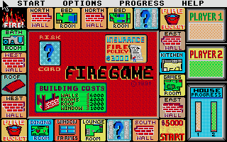 Screenshot of Firegame