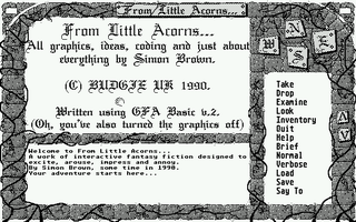 Thumbnail of other screenshot of From Little Acorns