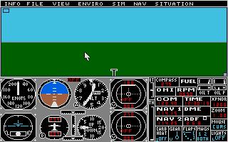Thumbnail of other screenshot of Flight Simulator 2 - Scenery Disk 11 - Detroit