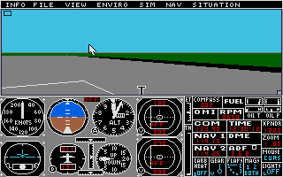Thumbnail of other screenshot of Flight Simulator 2 - Scenery Disk 14 - West Europe