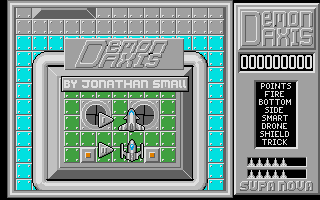 Screenshot of Demon Axis